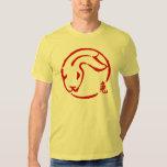 Año Nuevo chino abstracto de la camiseta del Playeras