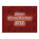 Año Nuevo chino de Hfappy Tarjeta Postal