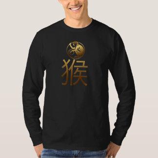 Año Nuevo chino de los hombres del mono 2016 Playera