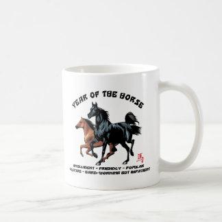 Año Nuevo chino del caballo Tazas