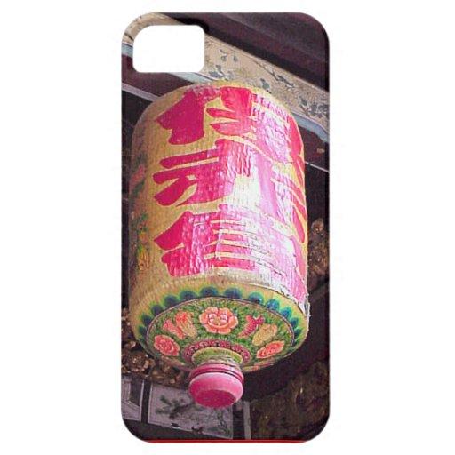Año Nuevo chino, linterna iPhone 5 Case-Mate Coberturas