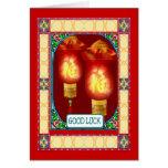 Año Nuevo chino, linternas Felicitaciones