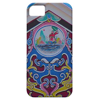 Año Nuevo chino, pintura china decorativa Funda Para iPhone 5 Barely There