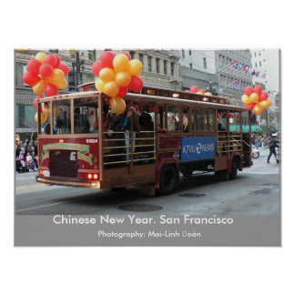 Año Nuevo chino - San Francisco Impresiones