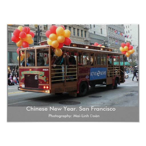 Año Nuevo chino - San Francisco Póster