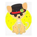 Año Nuevo de la chihuahua Flyer A Todo Color