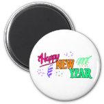 Año Nuevo de las camisetas de la Feliz Año Nuevo Imán