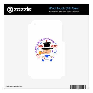 AÑO NUEVO DE ROOTIN TOOTIN iPod TOUCH 4G SKINS