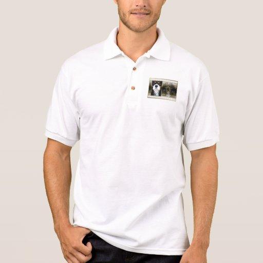 Año Nuevo - elegancia de oro - caballeros tricolor Camiseta