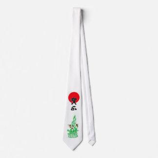 Año Nuevo japonés de Gashō Corbatas Personalizadas