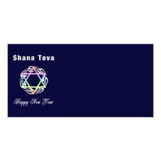 Año Nuevo judío Shana Tova Tarjeta Fotográfica