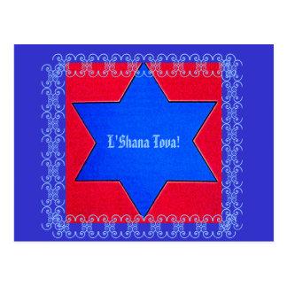 Año Nuevo judío Postal