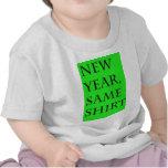 Año Nuevo los mismos productos de la camisa del an