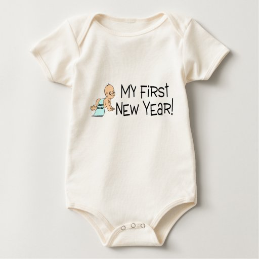 Año Nuevo mi primer Año Nuevo Enteritos