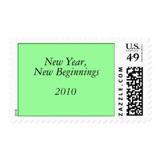 Año Nuevo, nuevos principios, 2010 Envio