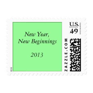 Año Nuevo, nuevos principios, 2013 Sellos