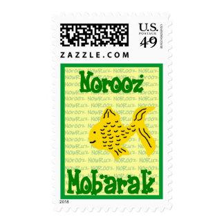 Año Nuevo persa - Norooz feliz Sellos