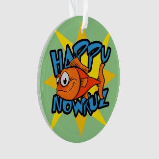 Año Nuevo persa sonriente Nowruz de Sun del