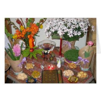 Año Nuevo persa Tarjeta De Felicitación