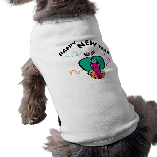Año Nuevo urbano Camisa De Mascota
