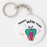 Año Nuevo urbano Llaveros Personalizados