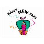 Año Nuevo urbano Postales