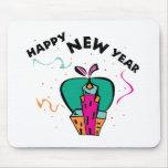 Año Nuevo urbano Tapetes De Ratón