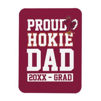 Año orgulloso de la clase de Hokie Imanes Flexibles