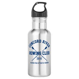 Año personalizado del nombre del equipo de los botella de agua de acero inoxidable