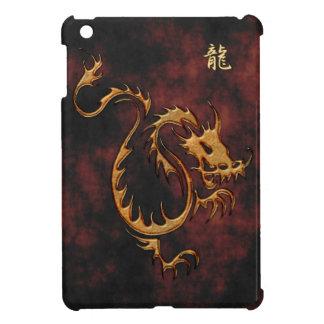 Año tribal caso del iPad asiático del dragón del m