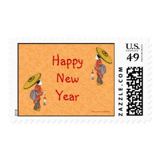 Año vietnamita chino de Tet del Año Nuevo del Año  Franqueo