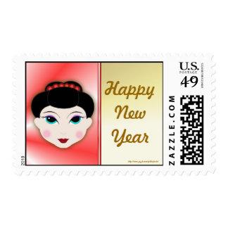 Año vietnamita chino de Tet del Año Nuevo del Año  Sellos