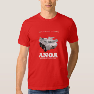 ANOA INDONESIAN ARMY ARMORED PERSONNEL CARRIER TEE SHIRT