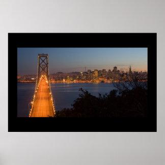 Anochecer de San Francisco Póster