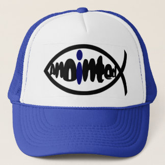 Anointed (blue) trucker hat