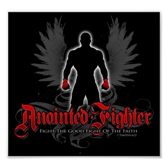 Anointed Fighter Poster