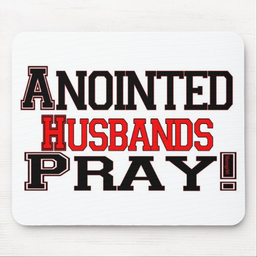 Anointed Husbands Pray Mouse Pad