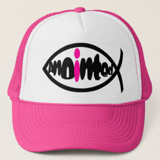 Anointed (pink) trucker hat