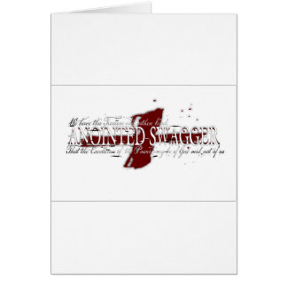 ANOINTED SWAGGER 41 WHT CARD