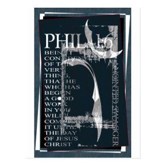 ANOINTED SWAGGER POSTER PHIL. 1:6 POSTCARD