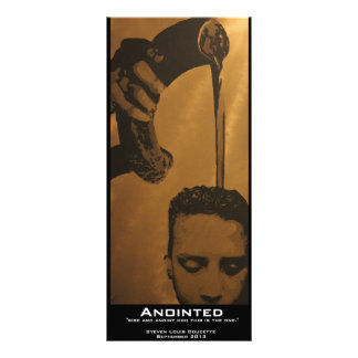 """Anointed"" Value Bookmark Personalized Rack Card"