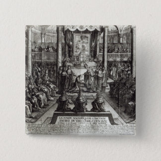 Anointing of Louis XIV  at Reims Button
