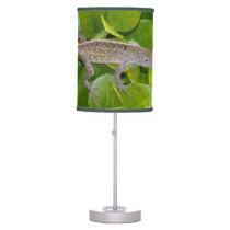 Anole Gecko Lizard Table Lamp