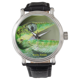 Anole Watch: Anolis equestris Wrist Watch