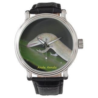 Anole Watch: Anolis occultus Wristwatch