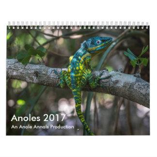 Anoles 2017 - Una producción de los anales de Calendarios De Pared
