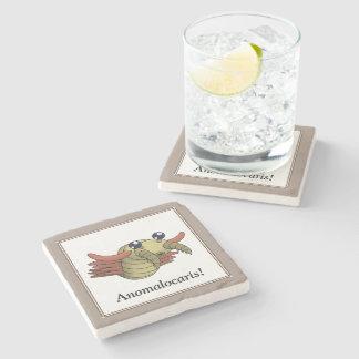 Anomalocaris Stone Beverage Coaster
