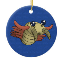 Anomalocaris- The Unusual Shrimp Ceramic Ornament