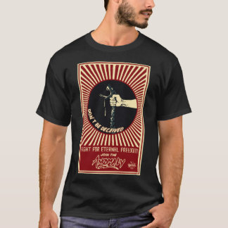 """Anomaly"" of The Fountain Mens Black T-Shirt"