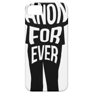 Anon Forever iPhone 5 Cases